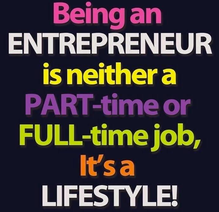 entrepreneur life style