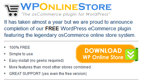 Free Ecommerce Plugin for WordPress - WP Shopping Carts - Online WordPress Store
