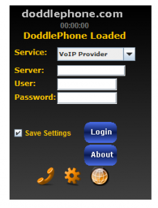 Online SIP WebPhone-Click2Call Doddle - VoIP call from webpage public telephone