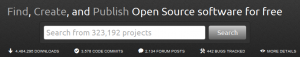 SourceForge.net- Find, Create, and Publish Open Source software for free