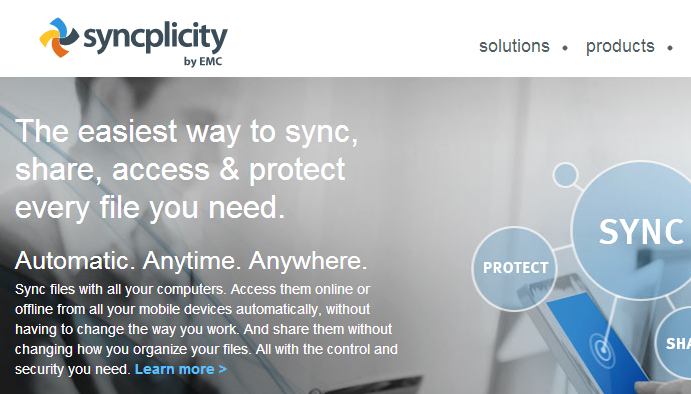 File Sync, Sharing & Collaboration Cloud Service - Mobile Document Sync - File Management - Syncplicity