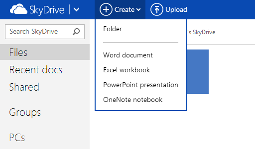 Files - SkyDrive