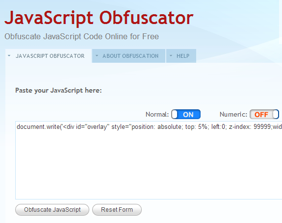 Best JavaScript Obfuscator | S V N Labs Softwares