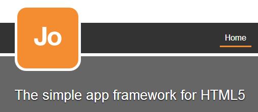 Jo HTML5 Mobile App Framework