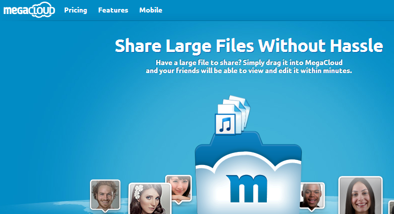 MegaCloud - Home - Your files wherever you are