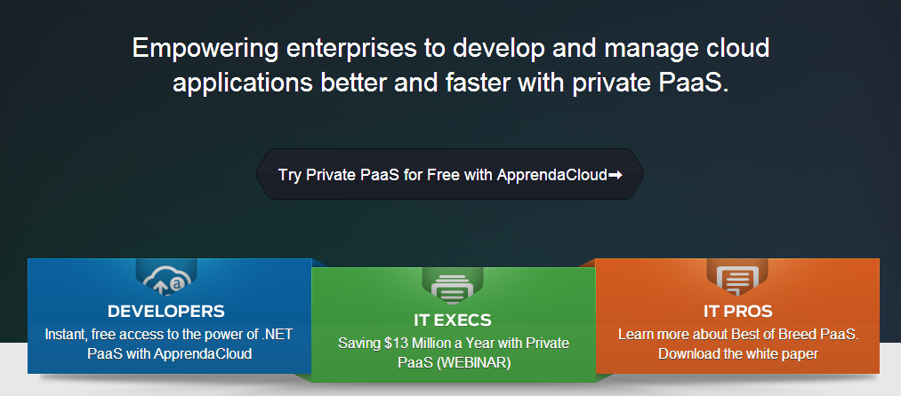 Open Platform as a Service (PaaS) for .NET - Apprenda