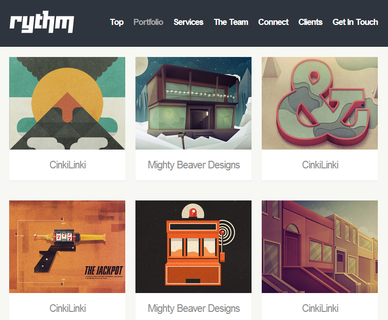 Rythm - Responsive One-Page Template