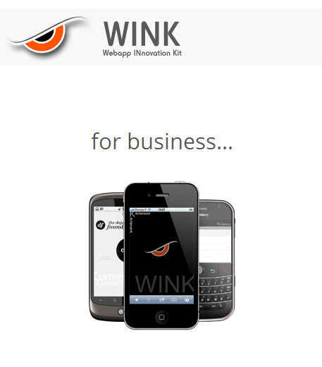 Wink toolkit - A mobile JavaScript framework to build great webapps