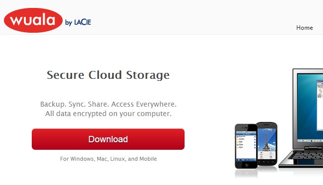 Wuala - Secure Cloud Storage - Backup. Sync. Share. Access Everywhere.