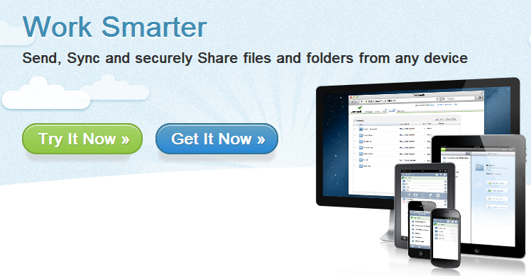 YouSendIt - File Sharing, Send Large Files, Access Files from Any Device