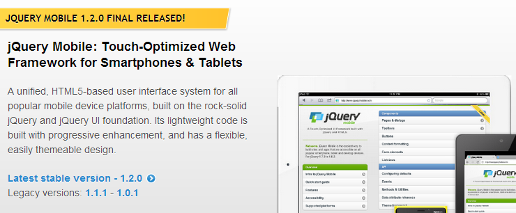 jQuery Mobile - jQuery Mobile