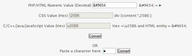 Unicode Character Calculator