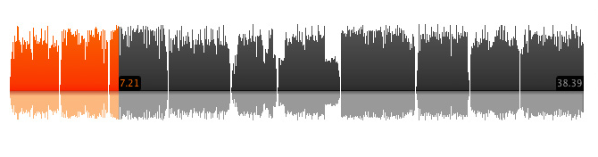 soundcloud-waveform