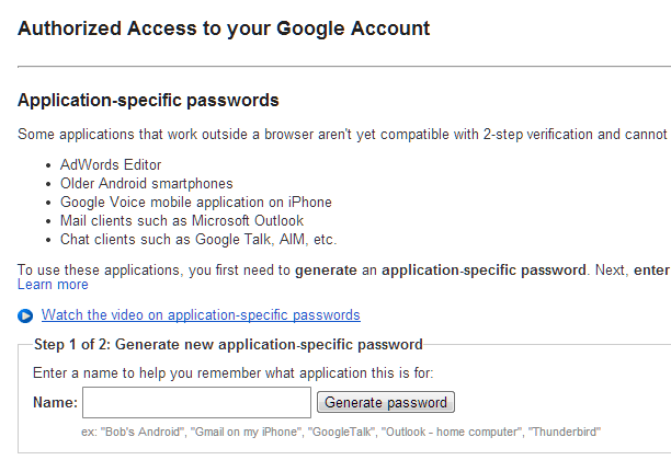 Google IssuedAuthSubTokens accesscode