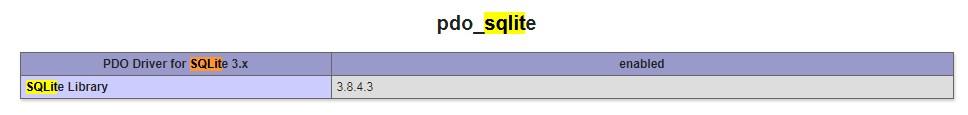 PHP-PDO-SQLite