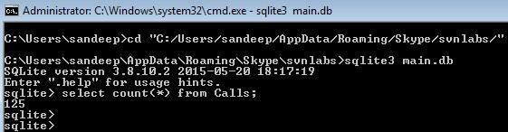 SQLite-CMD